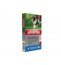 ADVANTIX PERROS 10 / 25 KG SOLUCION SPOT-ON VETERINARIA