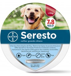 SERESTO COLLAR PERRO 8 KG VETERINARIA