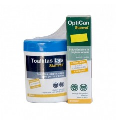 PACK HIGIENE OJOS (OPTICAN 125 ML TOALLITAS LYS 40 UDS)