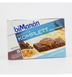 BIMANAN BARRITA CHOCOLATE CRUJIENTES SNACK  8U